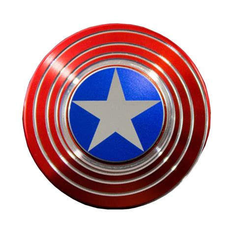 Fidget Spinner Capten America Spinner captain america shield high quality fidget spinner