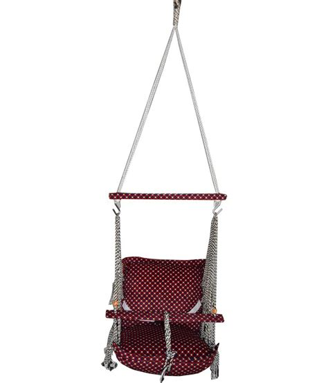 brown baby swing nehal brown baby swing hanging chair buy nehal brown baby