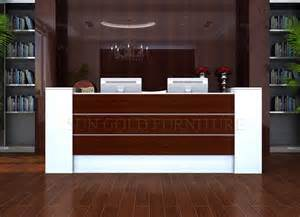 modern office counter table front desk counter reception