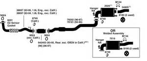 2002 Camry Exhaust System Diagram Toyota Corolla Questions Diagram For A 1996 Toyota