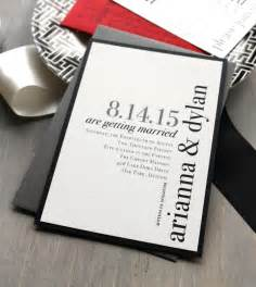 modern wedding invitations wedding invitation chic