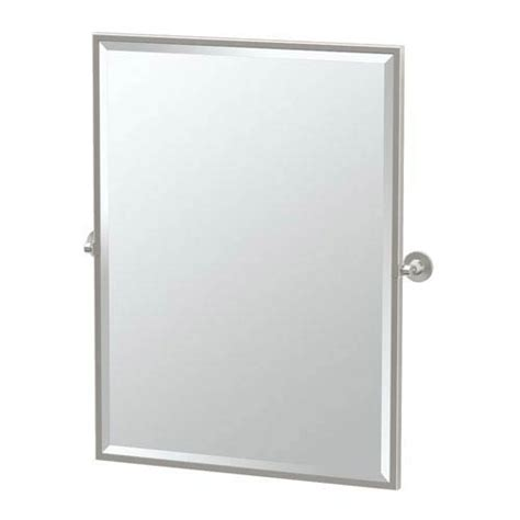 large rectangular solid brass mirror satin nickel max satin nickel framed large rectangle mirror gatco