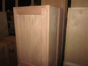 Staining Unfinished Kitchen Cabinets by 15 Quot Inch All Wood Unfinished Stain Grade Oak Kitchen Wall