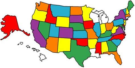 usa map visited states jim s motorcycle trips usa four corners tour