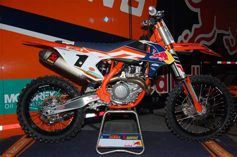 Factory Ktm Dirt Bike Magazine 2016 Ktm Factory Editions Look