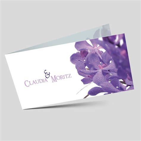 Hochzeitseinladungen Violett by Hochzeitseinladung Violette Bl 252 Mchen