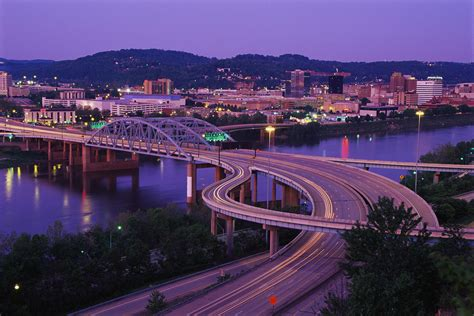 west virginia charleston on the kanawha river west virginia pictures