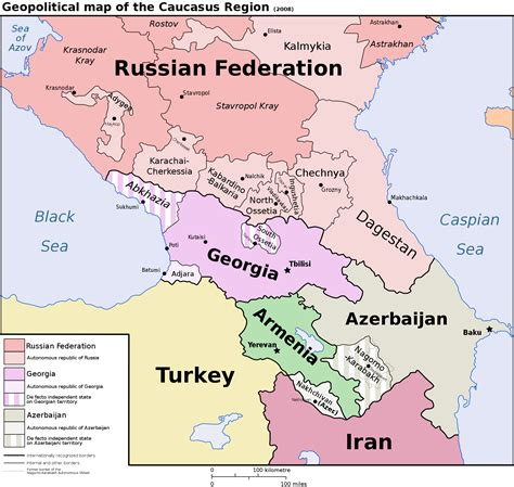geopolitical map of the caucasus region 2000x1897 mapporn