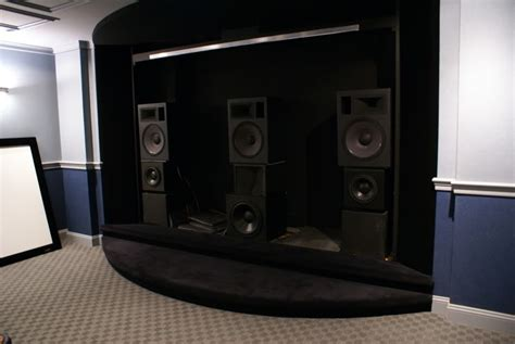 building front  ht speakers  centerwmtw  towers