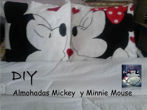 diy almohadas minnie  micky mouse youtube