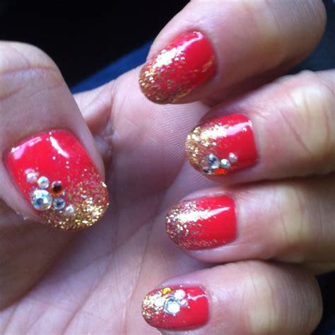 new year gel nail my new year gel nails nail designs i