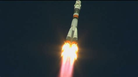 aborted soyuz launch crew safe after soyuz launch abort youtube