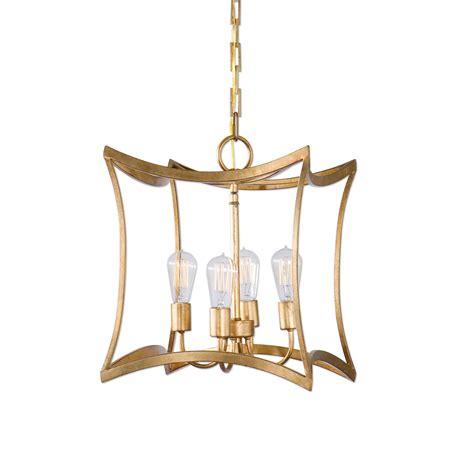 Pendant Lantern Light Uttermost Dore Gold Four Light Lantern Pendant On Sale