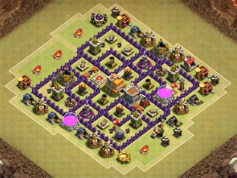 desain layout th7 35 best images about cash of clan bases cocbases com on