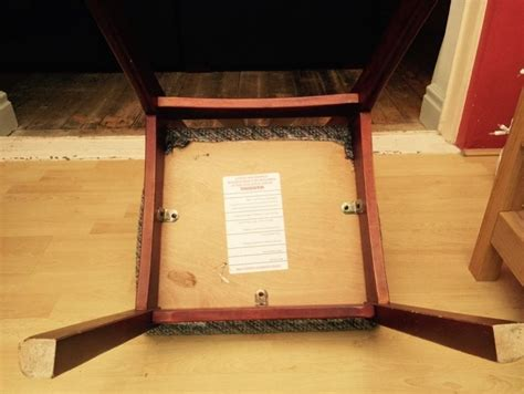 Chair With Secret Compartment by Sitting On Your Assets Or How To Make A Secret Chair Safe