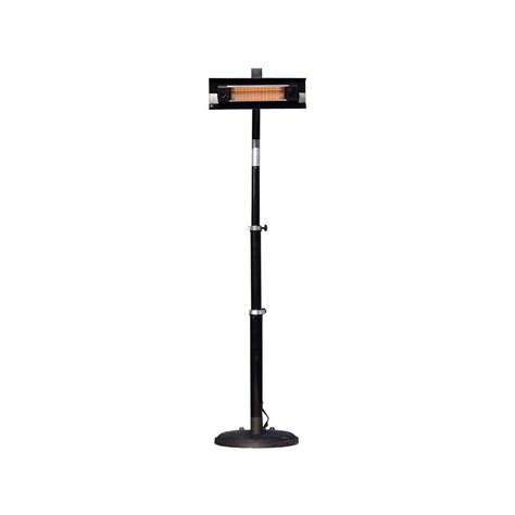 Fire Sense 1 500 Watt Telescoping Offset Pole Mounted Infra Patio Heaters