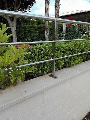 ringhiera parapetto ringhiera parapetto recinzione in acciaio inox per muretto