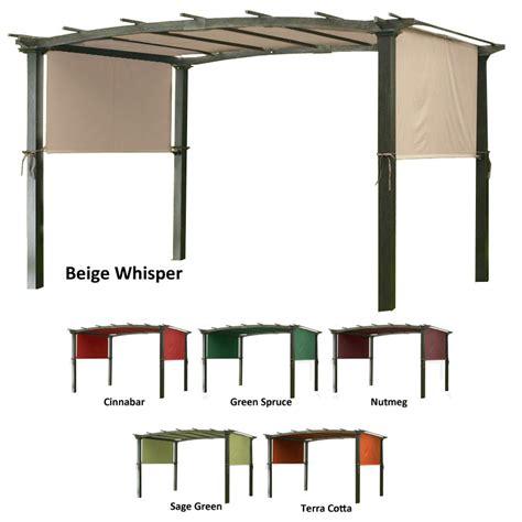 Designer replacement pergola shade canopy i garden winds canada