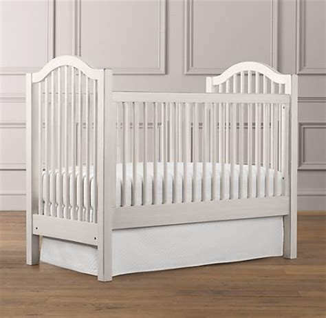 White Spindle Crib by Antique Spindle Crib 699 Nursery Furniture