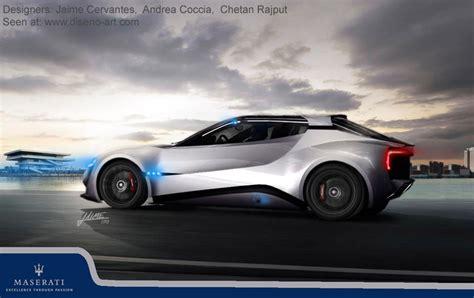 maserati concept cars maserati gt garbin 2020 concept cars diseno