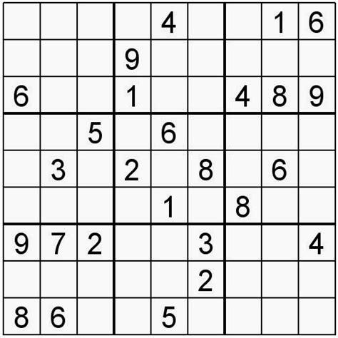 descargar sudokus para imprimir pasatiempos para imprimir sudoku n 186 153