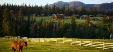 echo valley ranch and spa british columbia canada dude ranch vacation top50 ranches