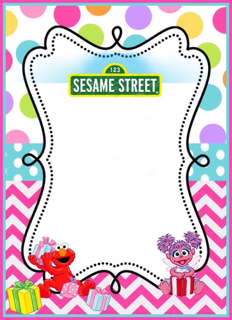 elmo template for invitations free printable sesame invitation templates