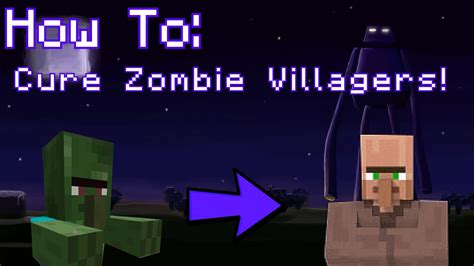 zombie villager tutorial minecraft how to cure zombie villagers tutorial youtube