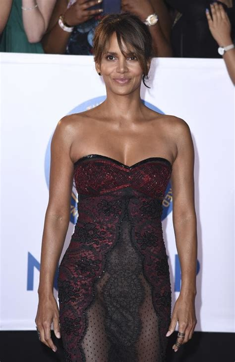 Frock Horror Of The Week Halle Berry by Halle Berry Naacp Awards Carpet Turns Heads