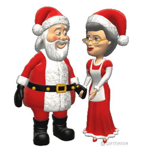 imagenes de santa claus y mama claus animated gif of santa claus and mrs claus and free images