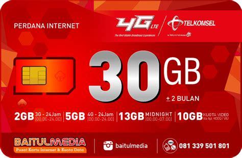 cek kuota paketan simpati 30 gb paket perdana internet simpati kuota besar 30gb internet