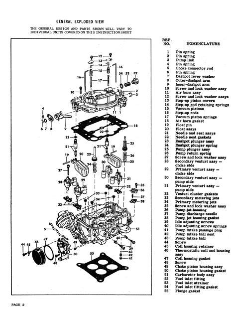 1957-1967 Carter Model AFB Carburetor
