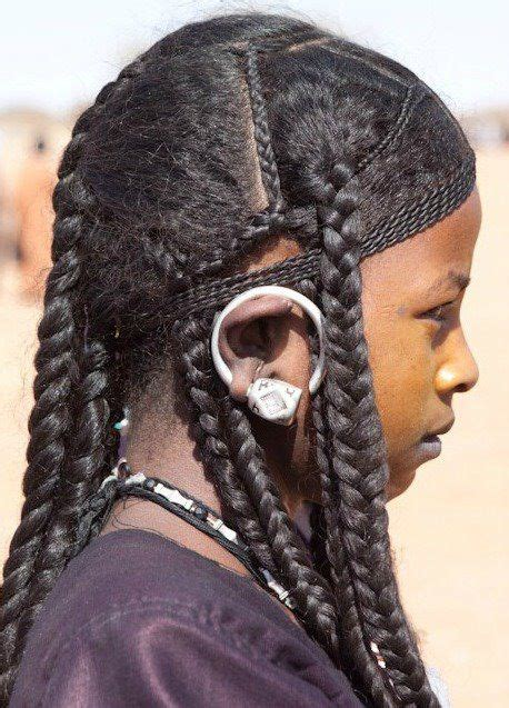 easy ethinic braid styles on natural hair taureg hairstyle adornment pinterest natural people