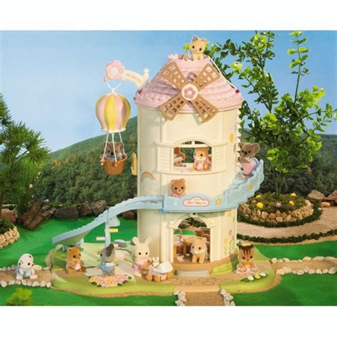 calico critters baby playhouse windmill review calico