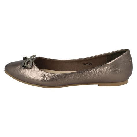 Fashion Shoes 806 Slip On leather collection slip on ballet shoes style 276 ebay