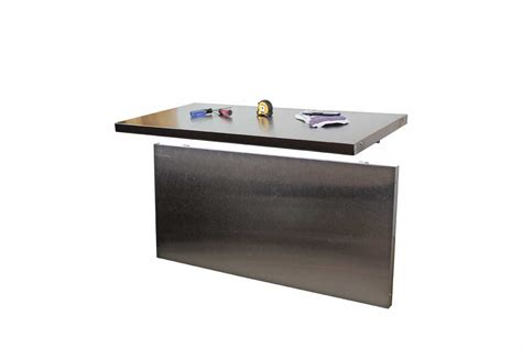 wall mounted folding work bench stainless wall mounted folding workbench 41 quot w x 20 quot d riversedge products