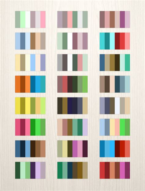 complementary color palette 24 complementary color palettes elemisfreebies