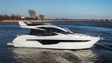 galeon yacht 2018 galeon 510 skydeck power boat for sale www