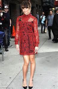 uk celebrities who were teachers glee s naya rivera wears mini skirt and sheer top to be a