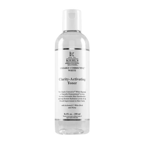 kiehl s clearly corrective white clarity activating toner