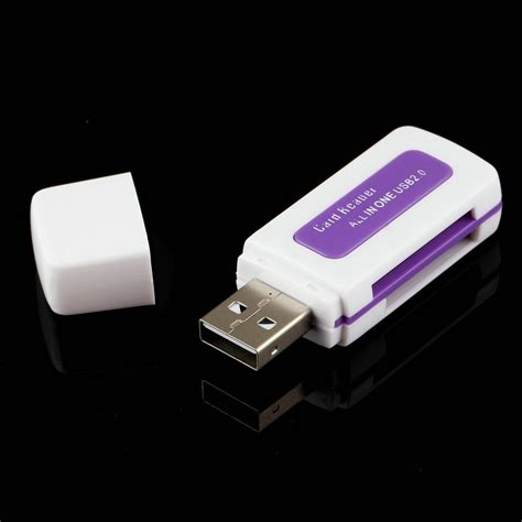 Card Reader Usb 2 0 4 In 1 1pcs protable usb 2 0 4 in 1 memory multi card reader for