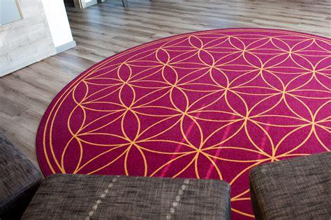 Teppich Blume Des Lebens Detail Raumausstatterblog