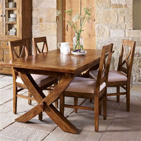 Dining Room Tables With X Legs The New Frontier X Leg Dining Table Extendable Dining