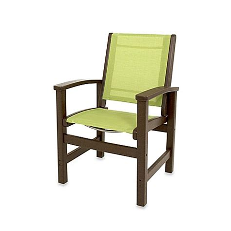 Polywood Dining Chairs Buy Polywood 174 Coastal Dining Chair In Mahogany From Bed Bath Beyond