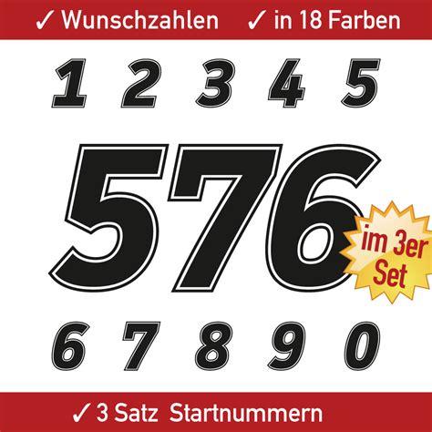 Startnummer Aufkleber Auto by Aufkleber Startnummer Auto Racing Zahlen H 246 He 15 16 17 18