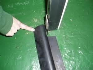 garage door heavy duty floor mount threshold weather seal