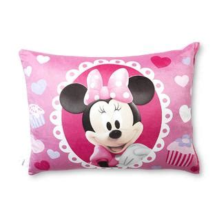 kids bed pillows disney minnie mouse bed pillow home bed bath