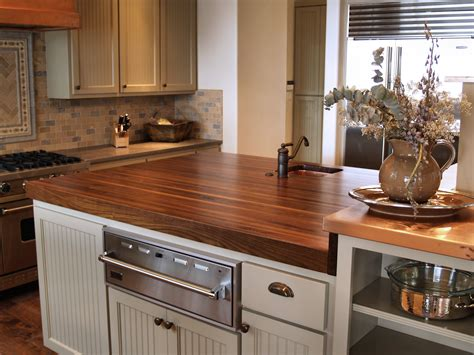 walnut kitchen island walnut wood countertop photo gallery by devos custom