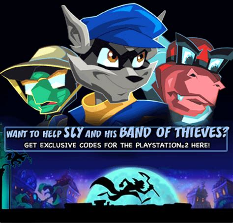 Toonami Giveaway - image sly 2 giveaway png toonami wiki fandom powered by wikia