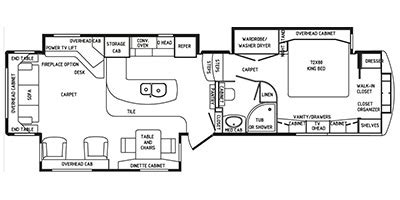 drv mobile suites floor plans 2015 drv mobile suites fifth wheel series m 38tksb3 specs